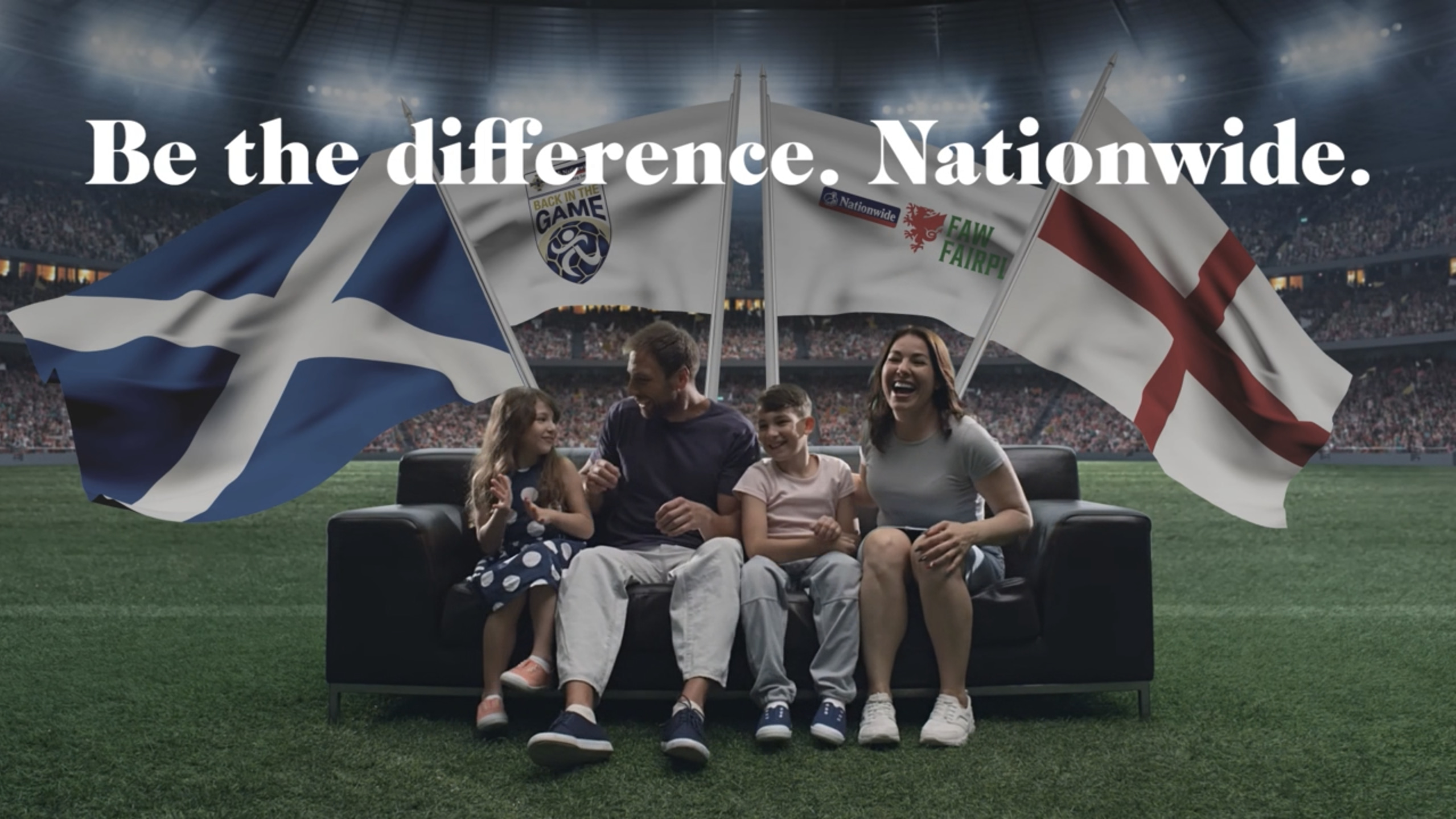 Be the difference. Nationwide